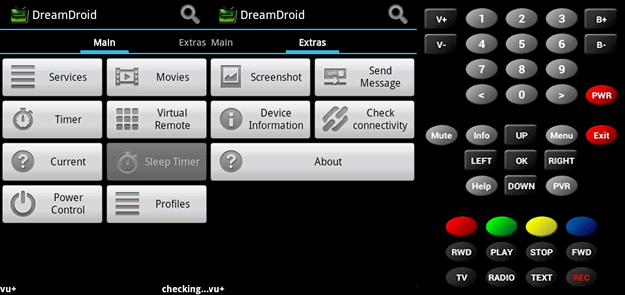 Enigma2 Android apps dreamdroid