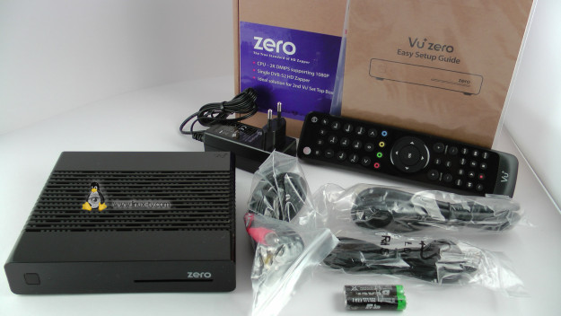 vu+ zero box contents