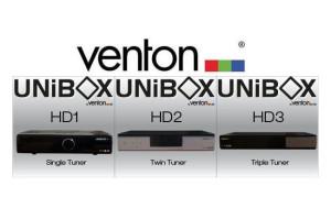 Venton Unibox receivers