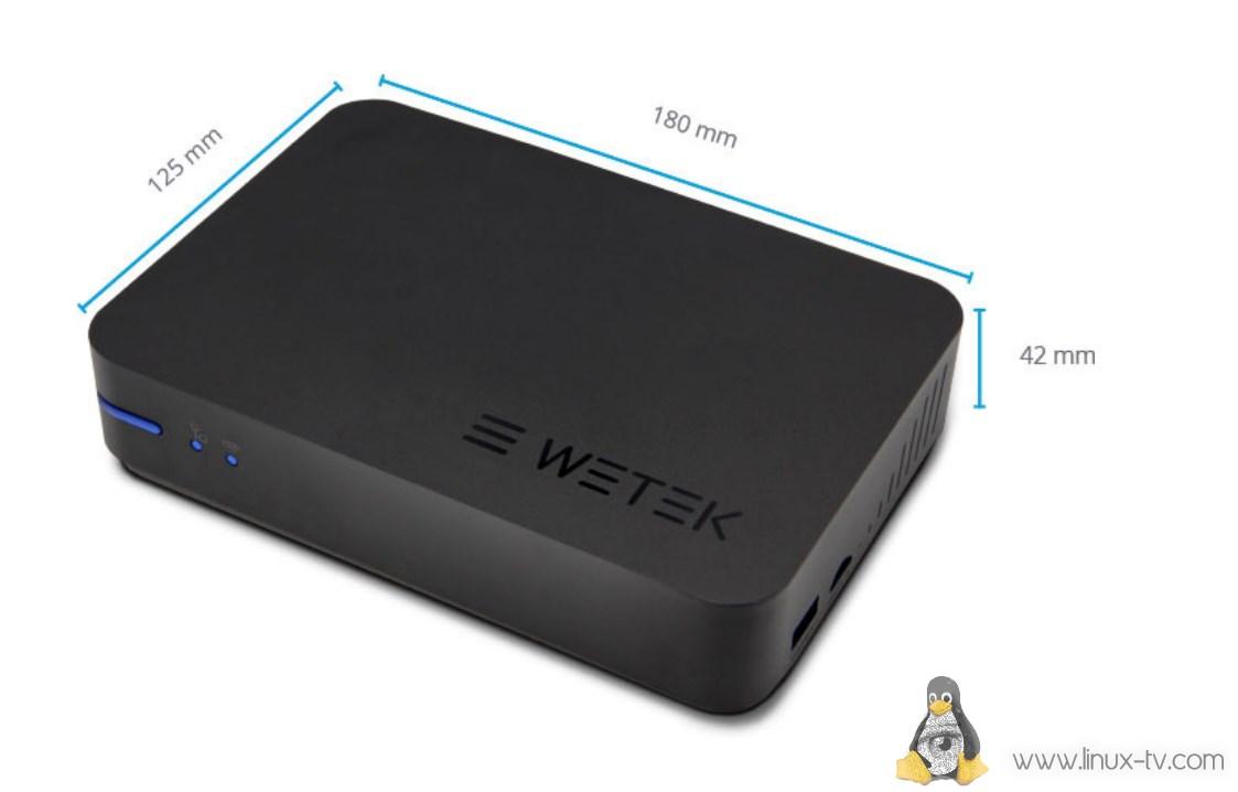 WeTek Play 2 size