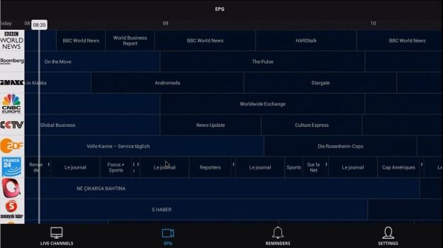 WeTek Play WeCloud antenna EPG