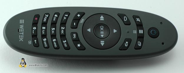 WeTek Play remote top