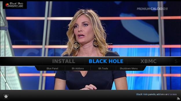 blackhole prismcube