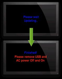 IQON IOS 100 HD flashing