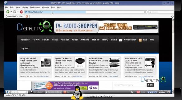 VU+ Webbrowser
