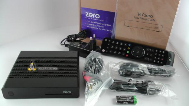 vu+ zero box contents