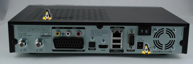 Vu+ Solo2 rear connections