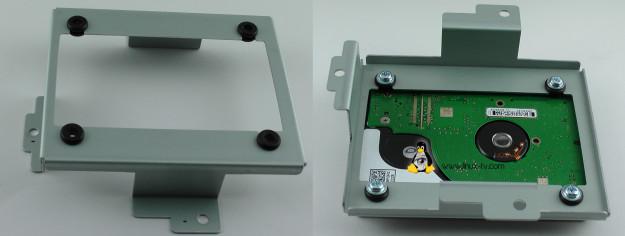 Vu+ Solo2 hard drive mount